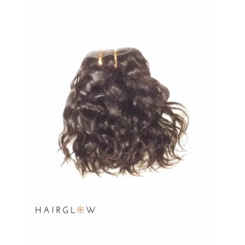 "Virgin hair 14"" Natural Wave Peruvian Virgin Hair extension"