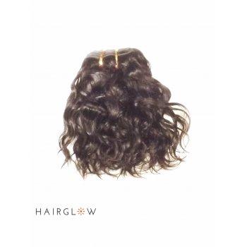 "Virgin hair 8"" Natural Wave Peruvian Virgin Hair extension"