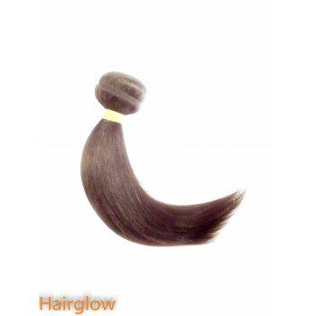 "Brazilian Hair 10"" Brazilian Yaki Virgin hair extension, Natural Black"
