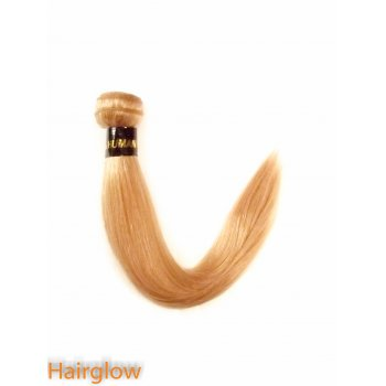 "Brazilian Hair 14"" Brazilian Yaki Remy hair extension, Honey Blonde"
