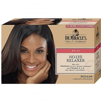 Dr Miracle No-Lye  Relaxer, Regular