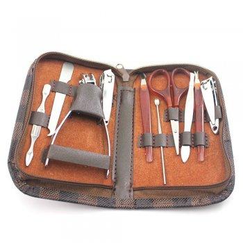 Hairglow 10pcs Manicure/Pedicure tool set