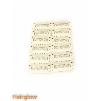 Hairglow 12 pieces hair extension clips