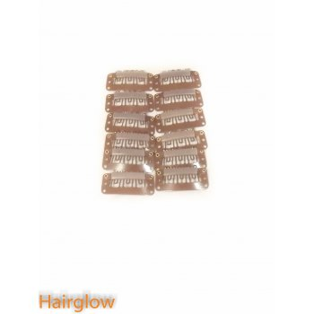 Hairglow 12pieces Hair extension clips