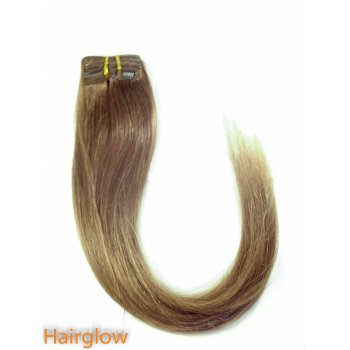 "Hairglow 20"" Clip In Remy Hair Extension"