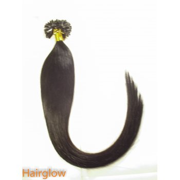 "Hairglow 20"" Nail Tip Remy Hair Extension"