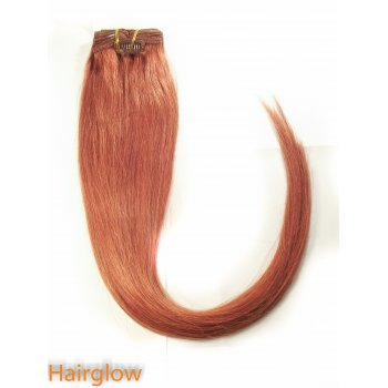 "Hairglow 22"" Clip In Remy Hair Extention"