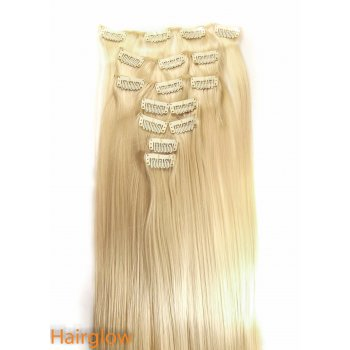 "Hairglow 22"" Straight Clip in Hair Extension"
