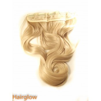 "Hairglow 24"" Bodywave  Clip In Hair Extension"