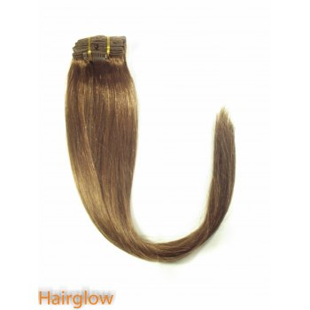 "Hairglow 24"" Clip In Remy Hair Extension"