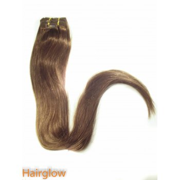 "Hairglow 28"" Clip In Remy Hair Extension"
