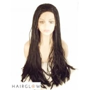 Box Braided Lace Front Wig