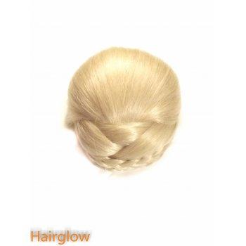 Hairglow Large Braided  hair bun