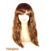 Light Brown Kinky Human Hair Wig
