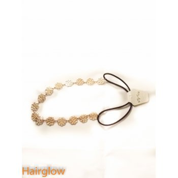 Hairglow Rose flower chain headband