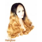 Wavy Ombre Lace Front Wig