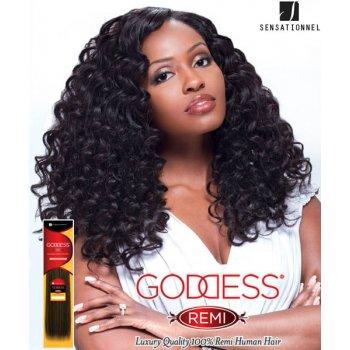 "Sensationnel 18"" Curly/deep wave Goddess Remi"
