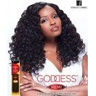 "18"" Curly/deep wave Goddess Remi"