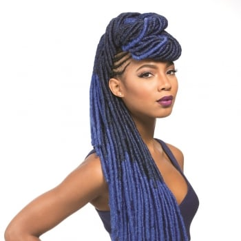 Sensationnel African Collection,Faux Lock,18inches