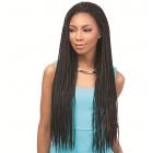 Empress Lace Wig, Senegal Box Braids