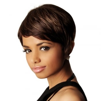 Sleek Human Hair Wig, Audrey
