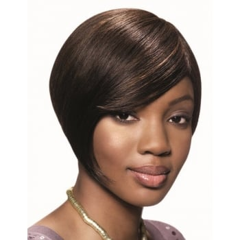 Sleek Human Hair Wig, Chic