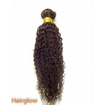 "Virgin hair 14"" Mongolian kinky virgin Human Hair"