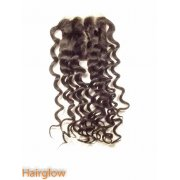 "16"" Brazilian Deepwave  Lace Closure"