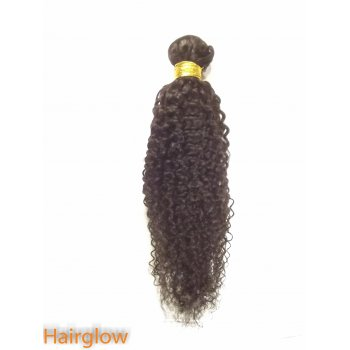 "Virgin hair 16"" Mongolian kinky virgin Human Hair"