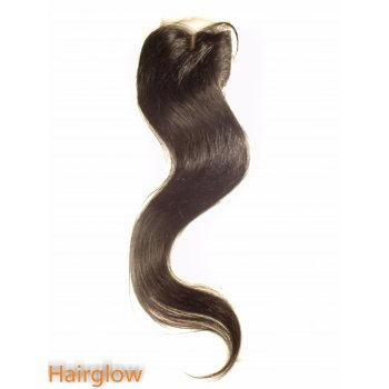 "Virgin hair 22"" Straight Brazilian Lace Closure"