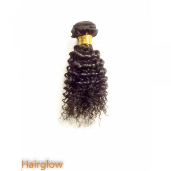 "Virgin hair 8"" Mongolian kinky virgin Human Hair"