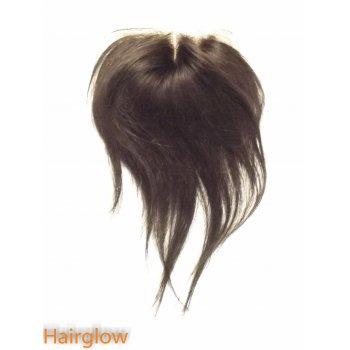 "Virgin hair 8"" Straight Brazilian Lace Closure"