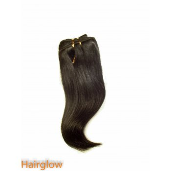 "Virgin hair 8"" Straight Peruvian Virgin Hair extension"